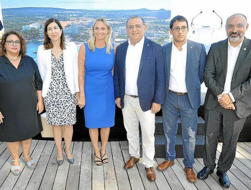 Maria José Aguiló, Rosana Morillo, Maria Frontera, Alfonso Rodríguez, Iago Negueruela y Andreu Serra.