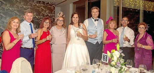 Carmen Repiso, José Fernández, Ana Rodríguez, Antonia Ruiz, Soraya Torres, Fabrice Allibert, Inmaculada Thomás, Bartolomé Villalonga y Carmen Simó.