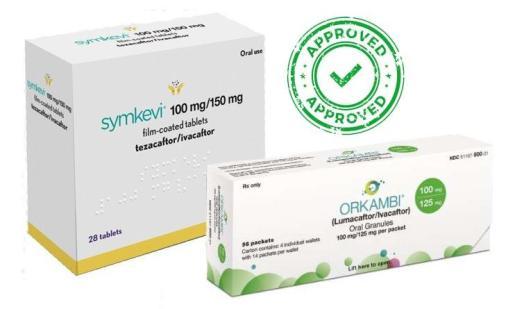 Medicamentos para la fibrosis quística.