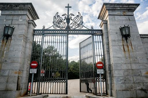 La puerta de acceso al Valle de los Caídos.
