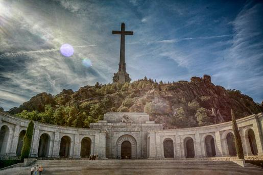 Imagen del Valle de los Caídos, donde está enterrado Francisco Franco.