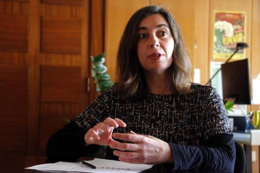 Neus Truyol, regidora de Urbanismo e Cort.