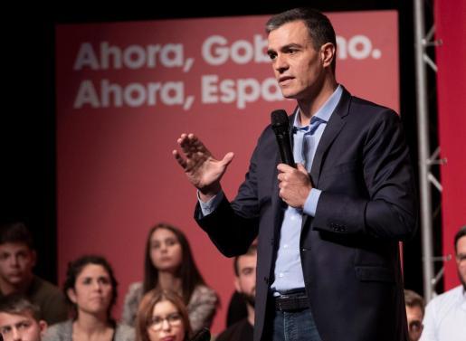 Pedro Sánchez, candidato del PSOE el 10N.