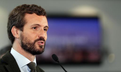 Pablo Casado, candidato del PP el 10N.