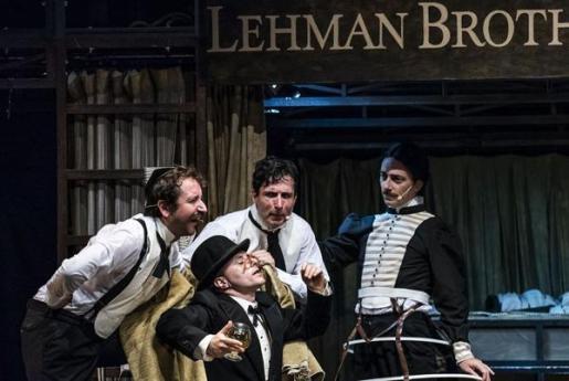 El Teatre Principal de Palma acoge la obra 'Lehman Trilogy'.