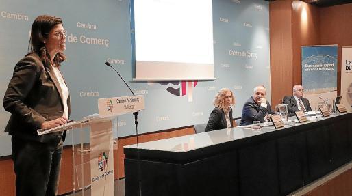 La jornada sobre el 'Brexit' que tuvo lugar ayer en la Cámara con María Aparici, Alicia Sánchez, Antoni Mercant y Miguel Morey recomendó planes de contingencia a todas las empresas.
