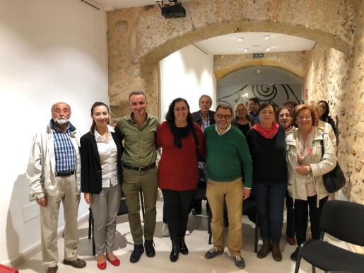 Los candidatos socialistas el 10 por Baleares se han reunido con militantes y simpatizantes en Bunyola.