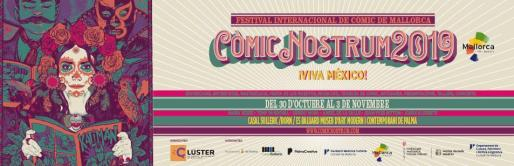 Cartel del Còmic Nostrum 2019.