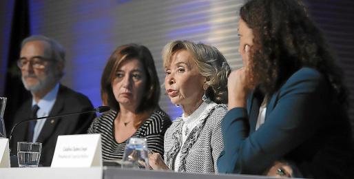 Antoni Diéguez, Francina Armengol, Fernández de la Vega y Catalina Cladera.