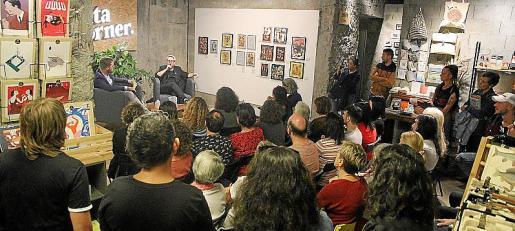 Un momento de la presentación del libro de Sonia Vivas.