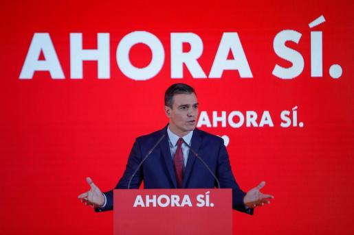 El candidato del PSOE, Pedro Sánchez.