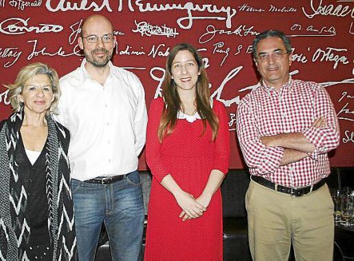 Bàrbara Galmés, Sergio González, Marina P. de Cabo y Antonio Sureda.