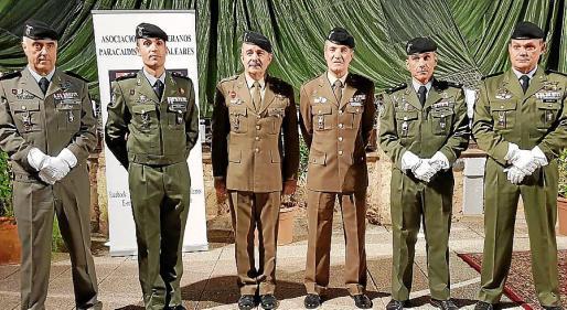 Enrique Monterde, David Ramajo, Máximo Romeral, Jesús Lanza, Roberto Rodríguez y Marcos Cabrera.