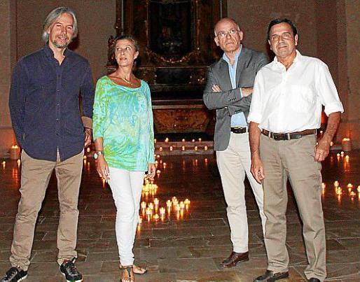 José María Fayos, Merche Bennásser, Jordi Reus y Carles Adell.