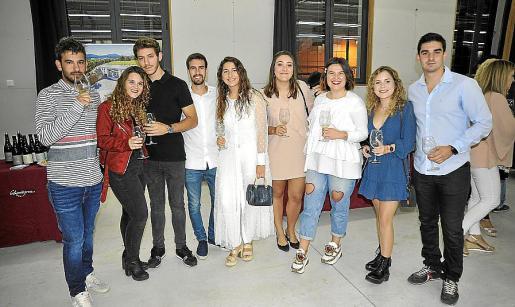 Jaume Rodríguez, Mar Esteva, Juan Sans, Edgar Ferrer, Caterina Nicolau, Margalida Perelló, Cati Pascual, Cati Comas y Joan Jiménez.