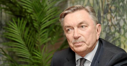 El embajador Yuri Korchagin anuncia una revitalización del turismo ruso en Balears en 2020.