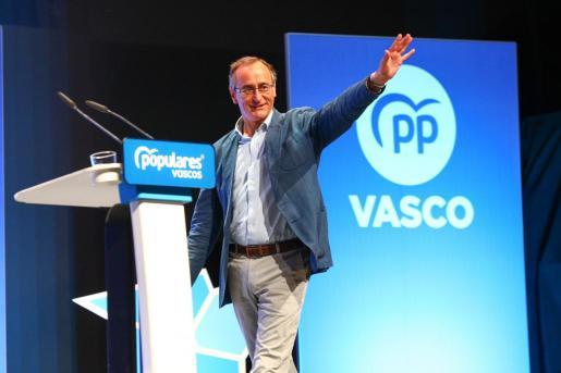 El presidente del PP en Euskadi, Alfonso Alonso.