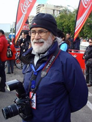 El fotógrafo y periodista Tomás Monserrat.