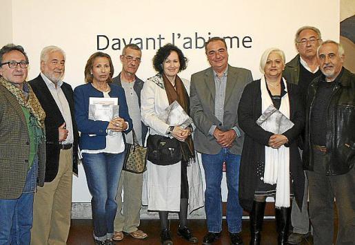 Jaime Llabrés, Ángel San Martín, Inma Canet, Pep Cañellas, Pilar Ribal, Mateu Bauzá, Caterina Albertí, Steve Afif y Viçens Torres.