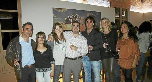 Óscar Fernández, María Pareja, Yulla Grabouskaya, Óscar Martínez, Luis Profitós, Luisa Jaume y María Paz Oyanedel.