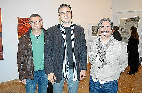 Biel Bauzà, Tomeu Cifre y Joan Cifre.