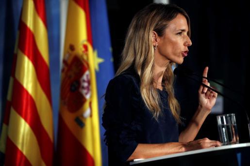 Cayetana Álvarez de Toledo, candidata del PP al Congreso por Barcelona.