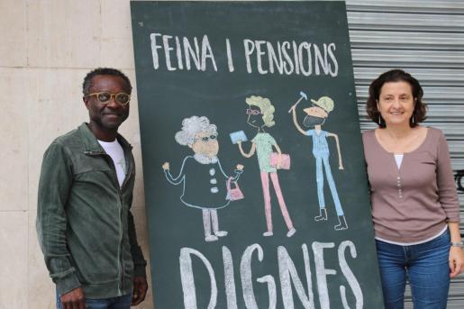Guillem Balbao y Fina Santiago han presentado esta propuesta este domingo.