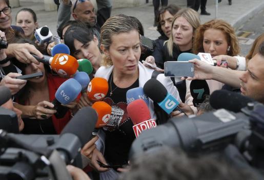Diana López Pinel, madre de Diana Quer, en una imagen de archivo.