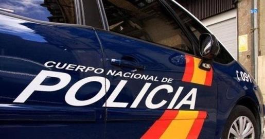 Vehículo oficial del Cuerpo Nacional de Policía.