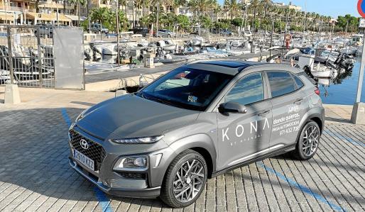 Un rincón del Puerto de la Colònia de Sant Jordi nos ha servido como buen escenario para este modelo que ofrece una estética moderna y la última tecnología.