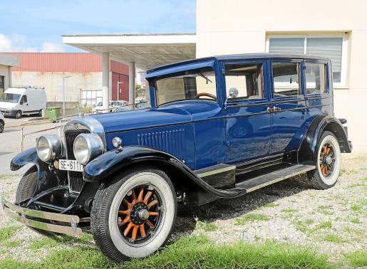 Vista del Cadillac 314 de 1924, un coche majestuoso para su época y que hoy en día causa admiración.