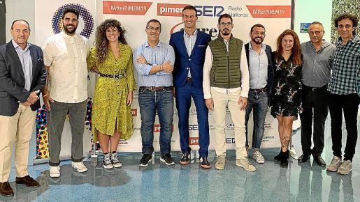 Rafa Gil, Sergio Gamisans, Vicky Pinar, Ramón Arroyo, Jordi Mora, Toni Vallcaneras, Virgilio Rodríguez, Vicky Pulgarín, Miquel Gual y Jesús Manzano.