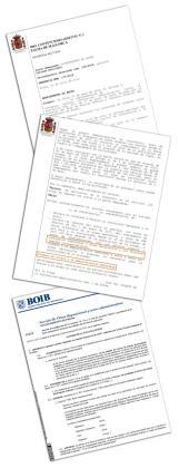 Imagen del texto de la sentencia.
