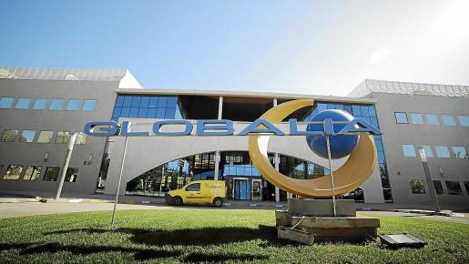 Imagen de la sede del grupo turístico Globalia en el polígono de Son Noguera, en Llucmajor.