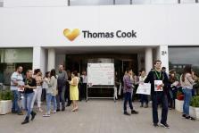 Trabajadores de Thomas Cook