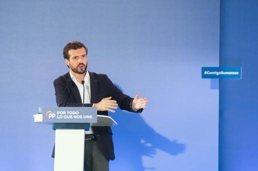 Pablo Casado, candidato del PP.