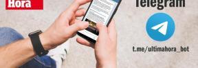 Recibe las noticias de Ultima Hora a través de Telegram