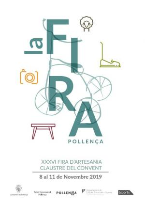 El Ajuntament de Pollença en colaboración con la Associació d'Artesans de la localidad organizan la Fira d'Artesania 2019.