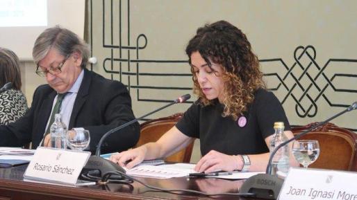 Vicenç Thomàs y Rosario Sánchez.