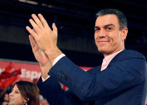 Pedro Sánchez, candidato del PSOE.