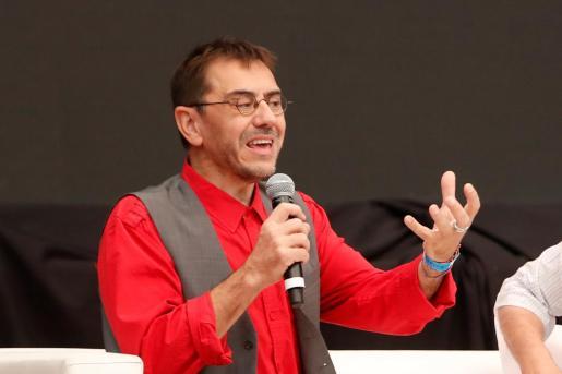 El politólogo y cofundador de Podemos, Juan Carlos Monedero.