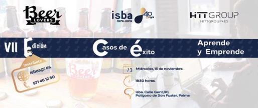 ISBA, Sociedad de Garantía Recíproca de Baleares, llevará a cabo una nueva edición del ciclo de conferencias para fomentar el emprendimiento.