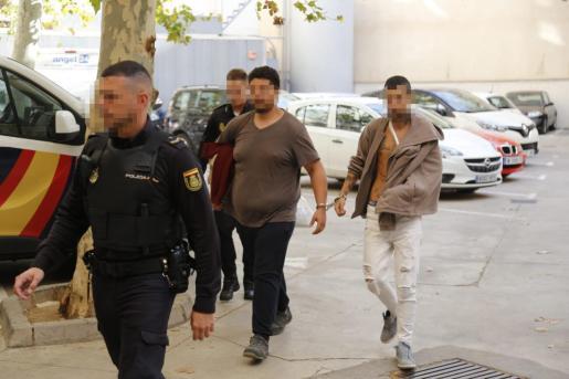 Los dos detenidos pasaron este miércoles a disposición judicial en Vía Alemania.