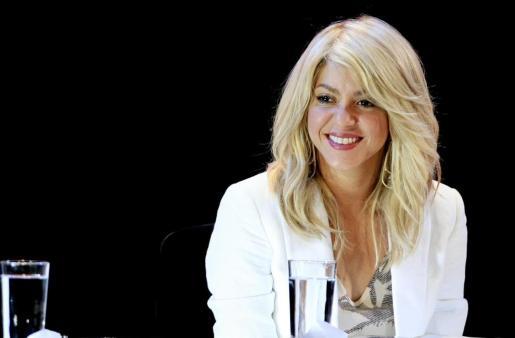 """La cantante colombiana Shakira asiste a la entrega de los """"Premios Alas-BID"""", en Cartagena (Colombia), una iniciativa del BID y la Fundación ALAS, que ella financia, con el fin de reconocer la innovación, la excelencia y la inversión en programas que beneficien a menores de seis años en Latinoamérica y el Caribe."""