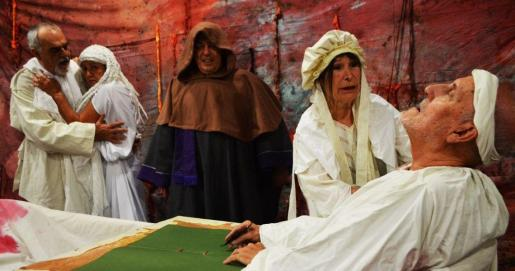 Sa Boira lleva la obra 'Marat-Sade' al Teatre Principal de Palma.