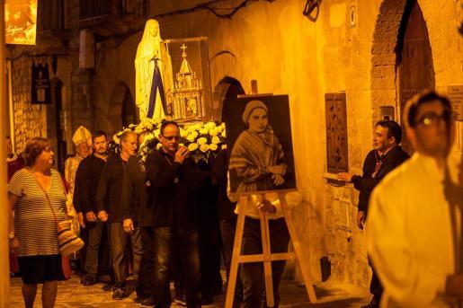 Las reliquias de Santa Bernadette Soubirous en Ibiza.