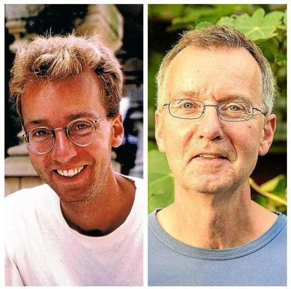 El holandés Dirk nos hace llegar una imagen suya del año 1993 (foto de la izquierda), cuando conoció a Miquel, y otra fotografía actual. Debido a los pocos datos que tiene, sólo le queda la esperanza de que el mallorquín le reconozca y se quiera volver a poner en contacto con él.