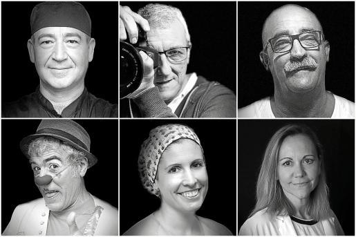 Los primeros. José Cáceres (camarero), Agustín Martínez (fotógrafo), Biel Barceló (celador), Aspirino (payaso de La Sonrisa Médica), Silvia Perelló (enfermera) y Anna Torrent (ginecóloga) son los rostros conocidos esta semana, cada día se publicará el de una nueva persona durante un año.