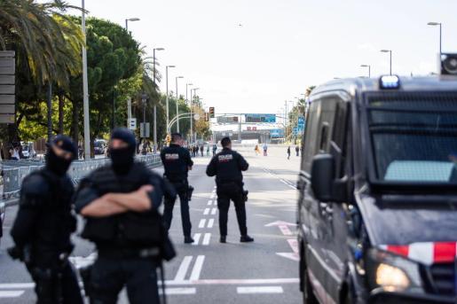 Un dispositivo policial de máximos garantizará la seguridad de las elecciones en Cataluña.