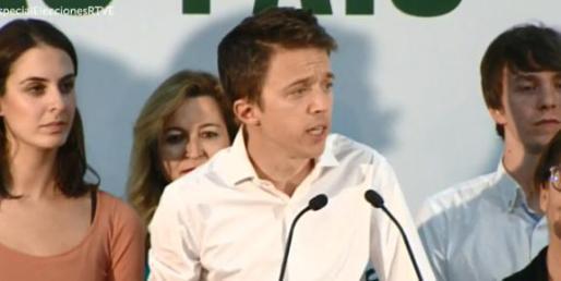 Íñigo Errejón ha valorado los resultados del 10N.
